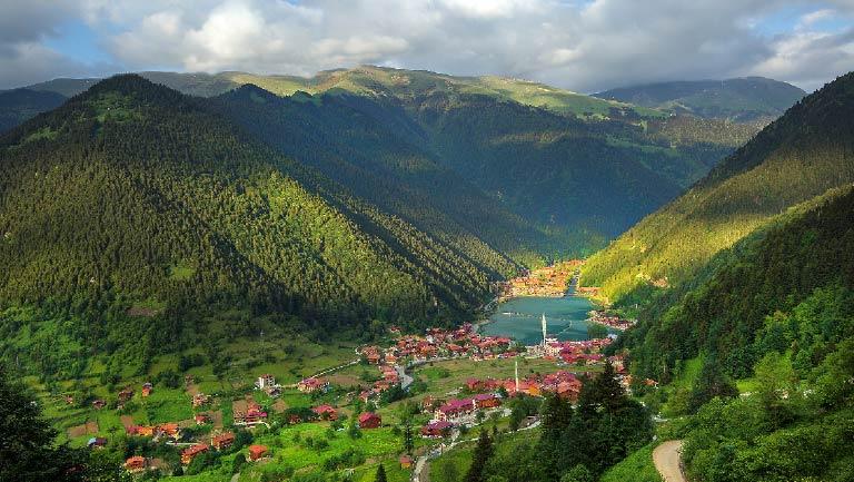 اجمل المدن السياحية في تركيا - قرية اوزنجول في طرابزون